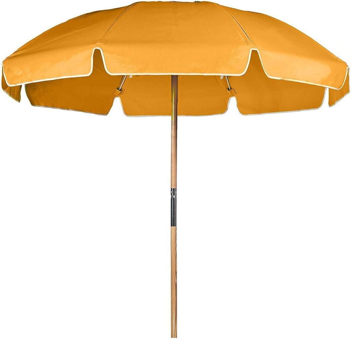 7.5 ft. Steel Commercial Grade Heavy Duty Beach Umbrella