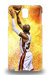 Tpu Galaxy Shockproof Scratcheproof NBA Miami Heat Ray Allen #34 Hard 3D PC Case Cover For Galaxy Note 3 ( Custom Picture iPhone 6, iPhone 6 PLUS, iPhone 5, iPhone 5S, iPhone 5C, iPhone 4, iPhone 4S,Galaxy S6,Galaxy S5,Galaxy S4,Galaxy S3,Note 3,iPad Mini-Mini 2,iPad Air )