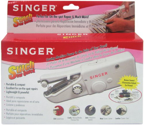 Stitch Sew Quick Hand Held Sewing Machine- 1 pcs sku# 644274MA by Singer