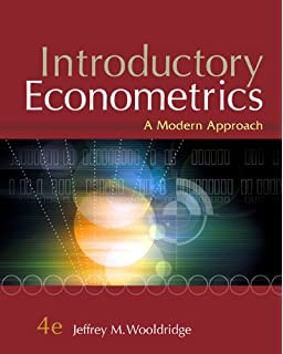 Introductory econometrics a modern approach upper level economics introductory econometrics a modern approach 4th edition fandeluxe Gallery