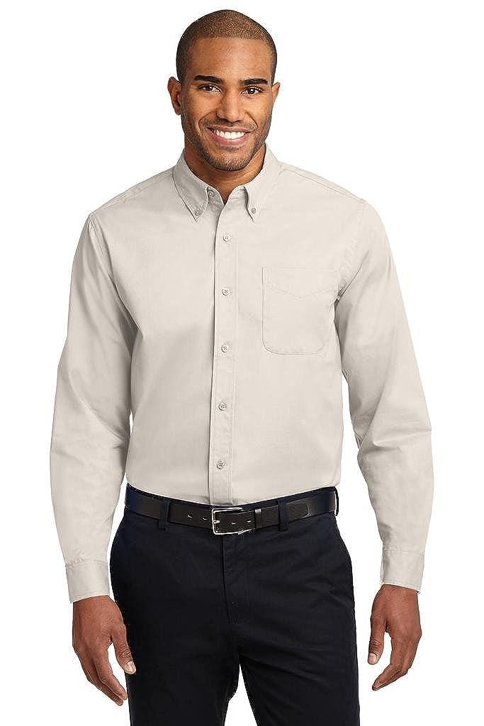 Joe's USA Men's Long Sleeve Wrinkle Resistant Easy Care Shirts in Regular, Big & Tall USAL523141124