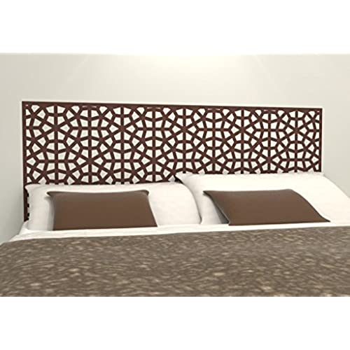 moroccan pattern headboard decal geometric pattern vinyl wall sticker removable bedroom decor inspired by morocco headboard wall graphic queen 61 - Moroccan Bed Frame