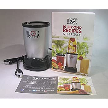 Original Magic Bullet Power Base 250 Watts with 10 Second Recipes & User Guide and Warranty Card