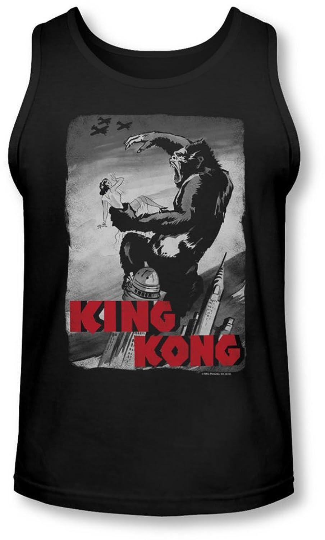 King Kong - Mens Planes Poster Tank-Top