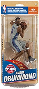McFarlane Toys NBA Series 31 Andre Drummond Detroit Pistons BRONZE Collector Level Action Figure #/2000