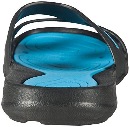arena Damen Badeschuhe Athena black,turquoise