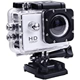 Lagfly Silver 8 MP HD 1080P DV Sports Action Camera Waterproof up to 30 Mtr at amazon