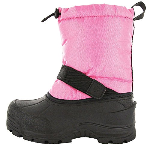 Northside Kid's Frosty Snow Boots,Pink,5 D Big Kid