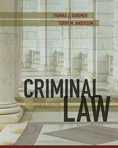 Criminal Law (For The New Criminology The Criminal Law)