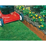 Trim-Free Terra Cotta Landscape Edging, 10 Pieces Suitable Way To Accentuate Your Garden Or Flower Bed