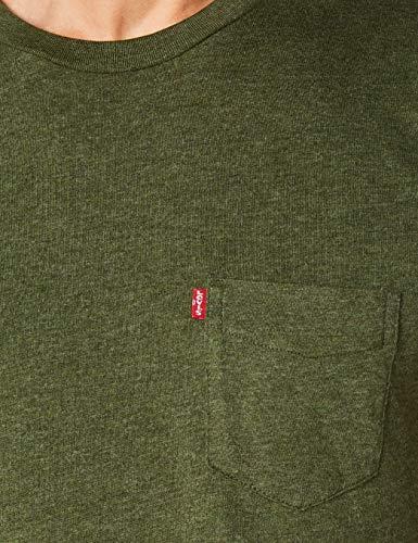 T Ss Levi's Sunset T Heather in cypress 0044 Homme Set Pocket Vert shirt pqrdYqn