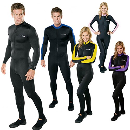 Black Blue Henderson Mens /& Womens Lycra Hot Skin Superior Dive /& Swim Skin