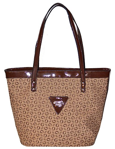 GUESS Signature Tansy Tote Bag Handbag - Outlet Shopping Online Guess