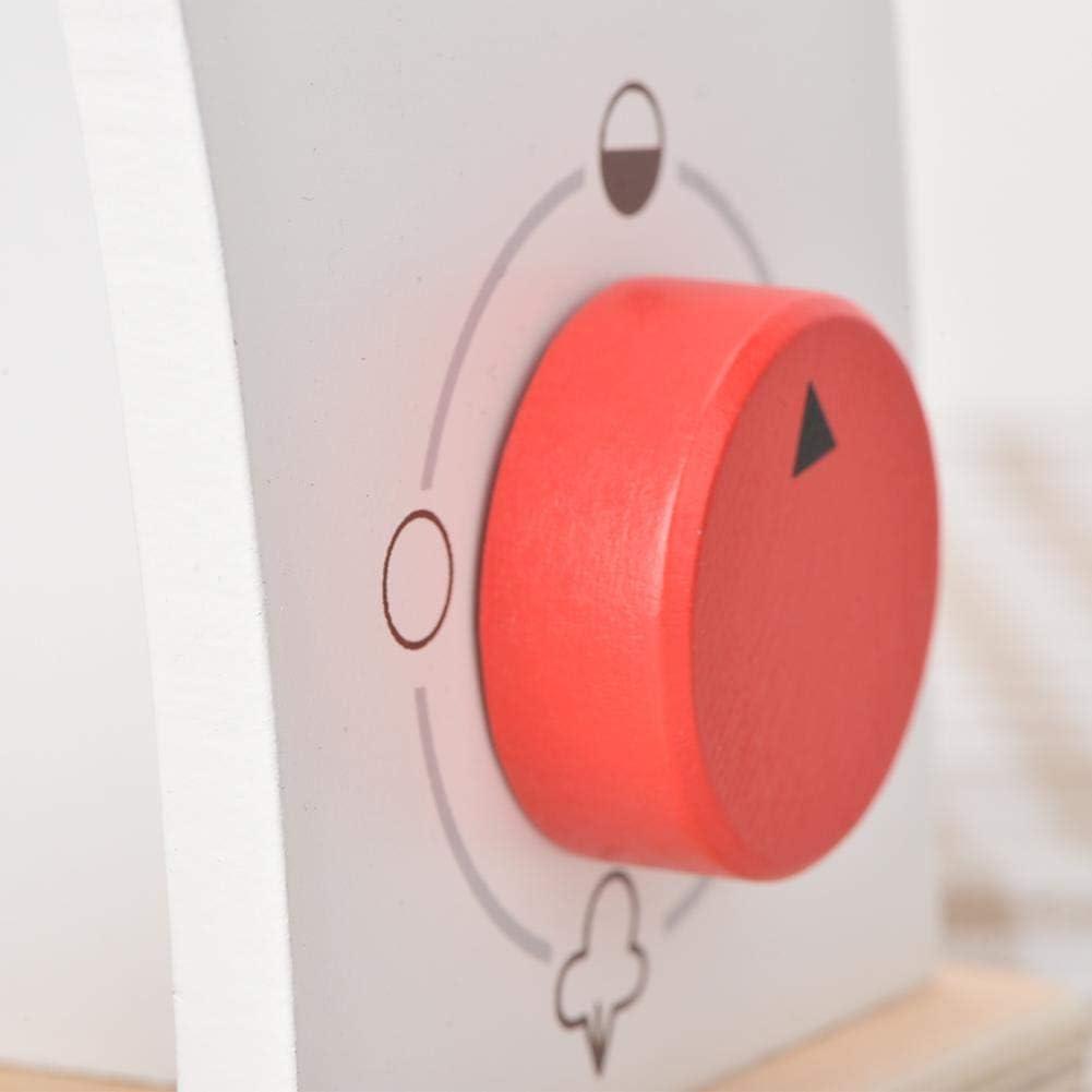 Kinderspielhaus Spielzeug aus Holz Simulation K/üche Kochen Kaffeemaschine Spielzeug Qiterr Kaffeemaschine Spielzeug