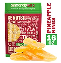 Sincerely Nuts - Dried Pineapple Rings (...
