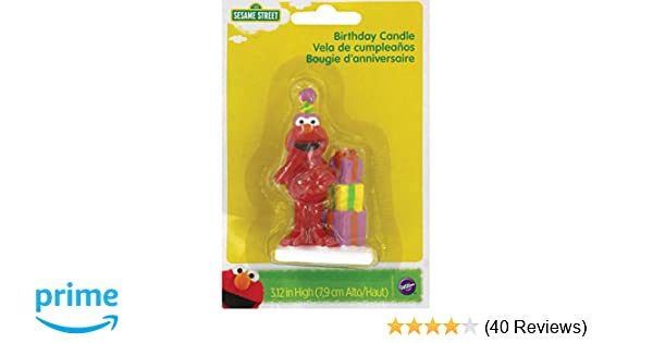 Wilton 2811-3464 Elmo Birthday Candle