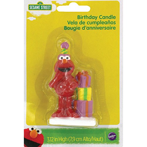 Wilton Elmo Birthday Candle (Elmo Decoration)
