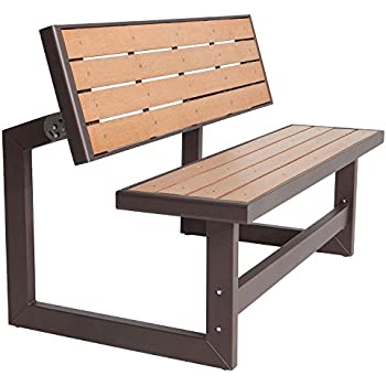 Amazon Com Lifetime 60054 Convertible Bench Table