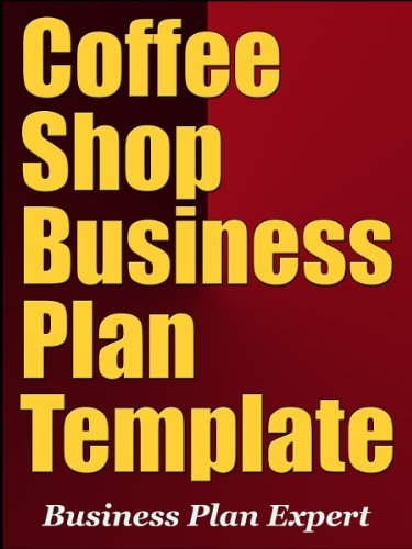 Amazoncom Coffee Shop Business Plan Template Including Free - Coffee shop business plan template free