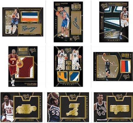 2015/16 NBA Panini Black Gold Basketball Hobby Box