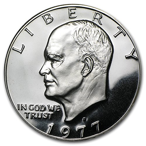 Coin Proof Collection (1977 S Eisenhower Dollar US Coin Ike $1 Gem Proof)