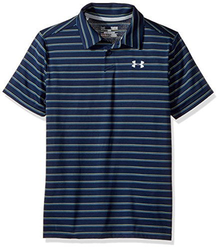 Under Armor Boys' Putting Stripe Polo Shirt