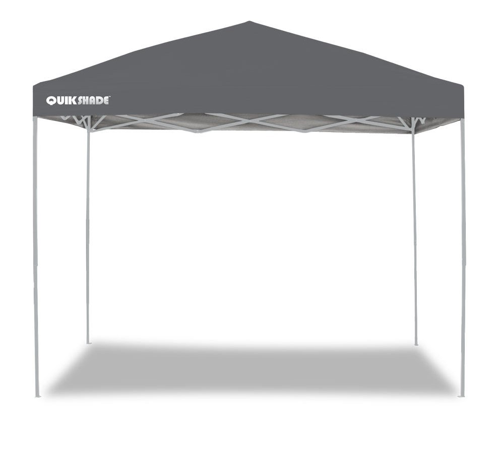 GAZEBO PLEGABLE QUIK SHADE 3 X 3 MT-MOD. SHADE COLOR GRIS: Amazon.es: Jardín