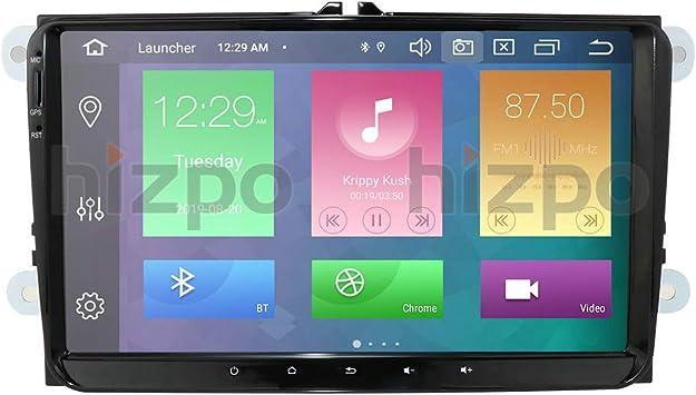 hizpo 9 Pulgadas Android 10 Auto estéreo Apoyo Radio Video ...