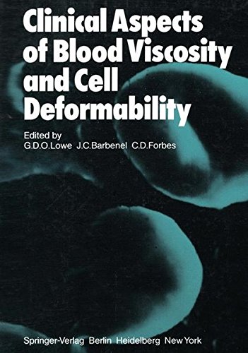 Clinical Aspects of Blood Viscosity and Cell Deformability for sale  Delivered anywhere in USA