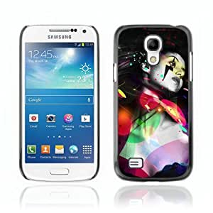 Designer Depo Hard Protection Case for Samsung Galaxy S4 Mini / Cool Colorful Woman & Tattoo