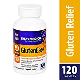 Enzymedica - GlutenEase, Complete Gluten & Casein Formula with Digestive Enzymes, 120 Capsules (FFP)