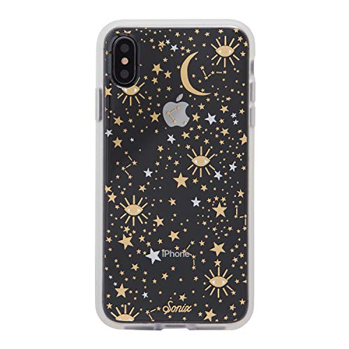 Sonix Cosmic (Gold, Silver Stars) [Military Drop Test Certified] Protective Clear Case Series for Apple iPhone Xs Max]()