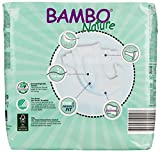 Bambo Nature Premium Baby Diapers, Maxi, Size 4, 30 Count (Pack of 6) (One Month Supply)