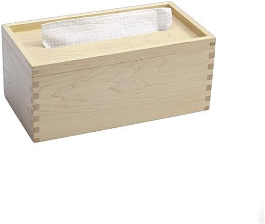 Caja De Pañuelos, Caja De Pañuelos De Madera Maciza, Bandeja De ...