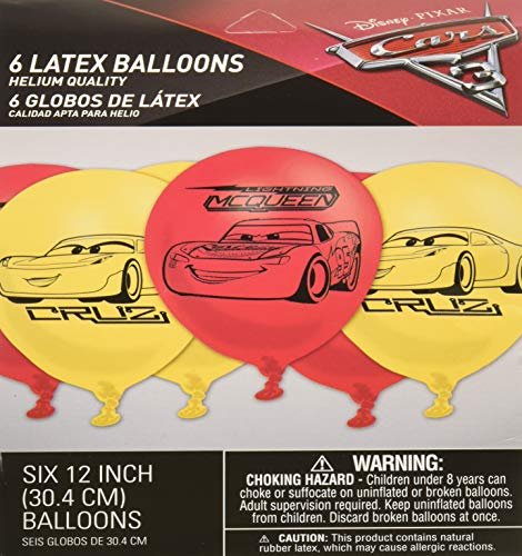 Disney Cars Balloons (amscan Disney Cars 3