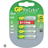 GP Batteries 12585AAAHCB-UC4-3+1 Chargeur Vert, Argent