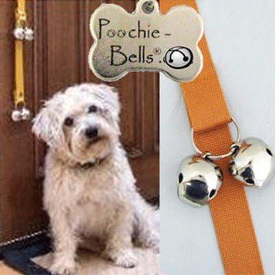 Poodle Puppy Dog Potty Training Doorbells Poochie Bells