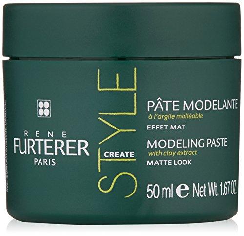 Rene Furterer STYLE Modeling Paste, Long Lasting Hold, Texturizing, Matte Finish,  1.6 oz.