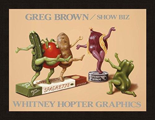 SHOW BIZ Vegetable Dancing Humor Food Kitchen art