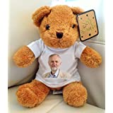 JEREMY CORBYN TEDDY BEAR, THE LABOUR PARTY by Books by the Sea