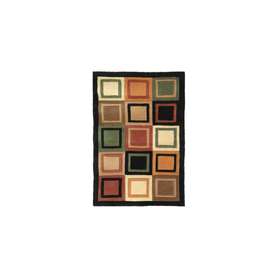 Safavieh Rodeo Drive RD861A Area Rug   Gold/Black   Hand Tufted Rugs