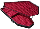 Coffin Case Bass Guitar Coffin Case Black Red