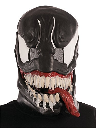 Rubie's Marvel Men's Universe Venom 3/4 Mask, Black,