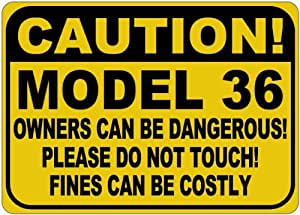 BUICK MODEL 36 Owners Dangerous Sign - 10 x 14 Inches