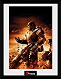 gears of war poster - Gears Of War Framed Art Print With Passe-Partout - 4, Gears (16 x 12 inches)