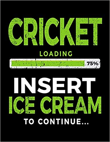 Como Descargar En Elitetorrent Cricket Loading 75% Insert Ice Cream To Continue: Blank Lined Notebook Journals PDF Web
