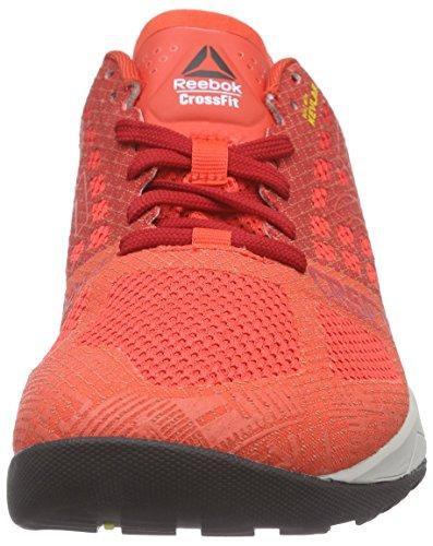 Reebok Herren Crossfit Nano 5.0 Laufschuhe Rot (Laser Red/Excllent Red/Steel/Shark/Black/Mred)