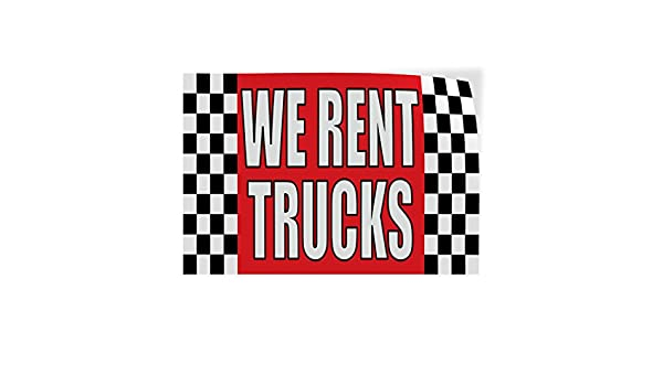 69inx46in Decal Sticker Multiple Sizes We Rent Cars #1 Business Rental Outdoor Store Sign Red One Sticker