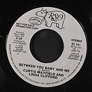 Curtis Mayfield Amp Linda Clifford Between You Baby And Me