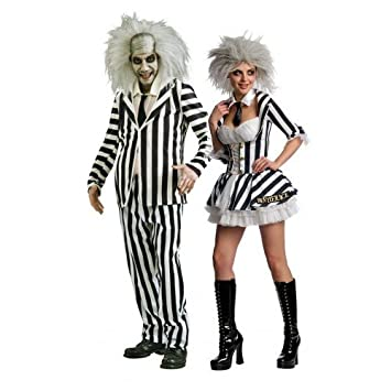 couples fancy dress mr mrs beetlejuice halloween party costumes outfits ladies 6 8